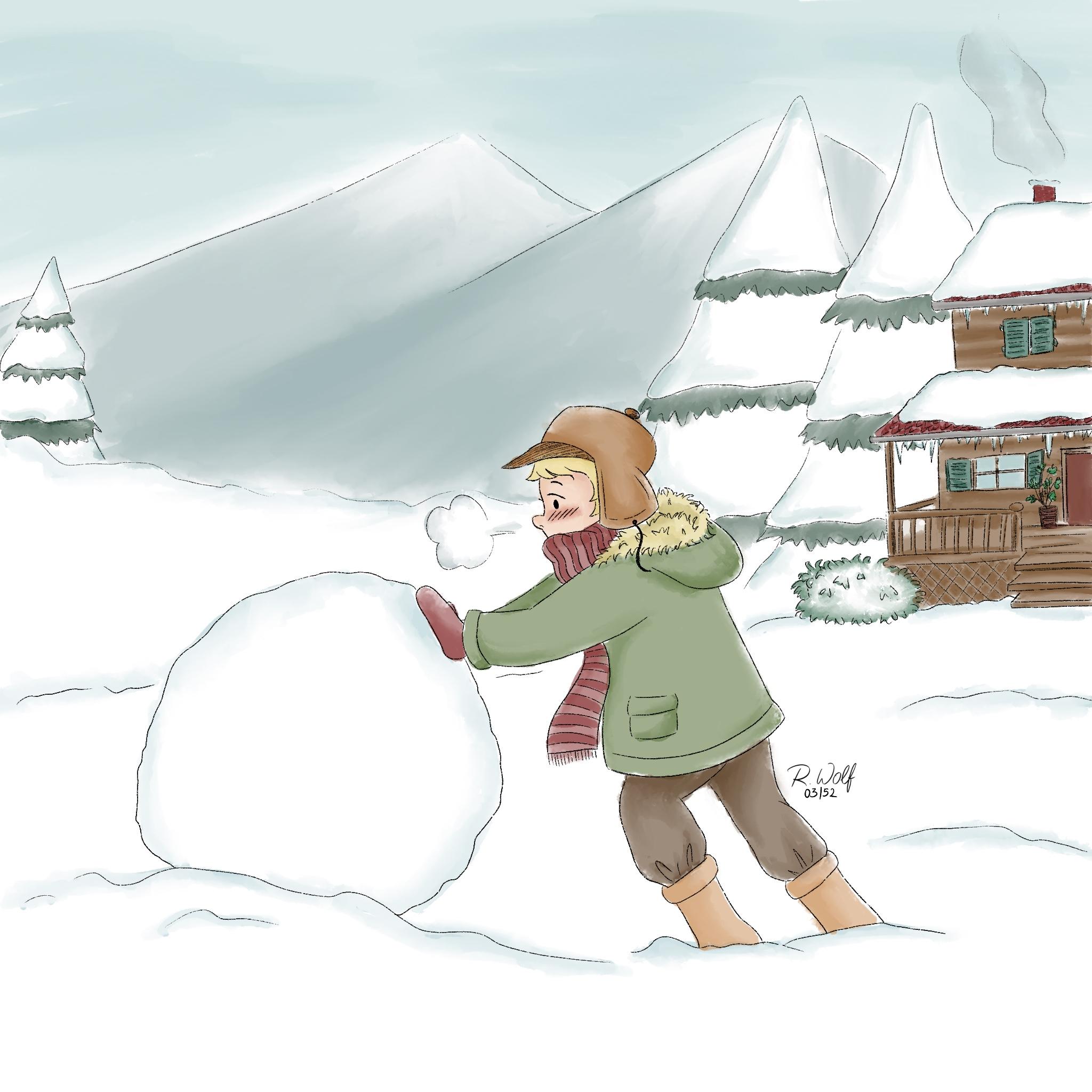 Snow Regina Wolf